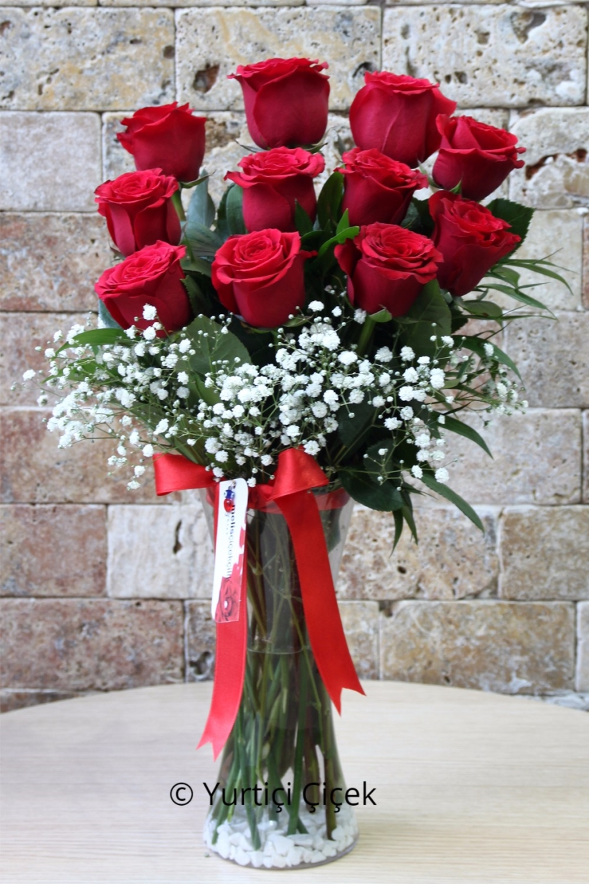Red Roses: 11 pcs 